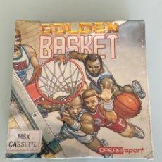 Videojuegos y Consolas: MSX - GOLDEN BASKET / PRECINTADO / (OPERA SOFT) - NUEVO. Lote 267012134