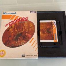 Videojuegos y Consolas: MSX - THE GOONIES (KONAMI) - CAJA EN BUEN ESTADO. Lote 267604609