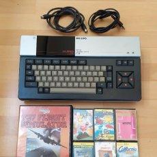 Videojuegos y Consolas: ORDENADOR MSX PHILIPS VG-8020 + JUEGOS CASSETTE BUEN ESTADO MSX2. Lote 267736714