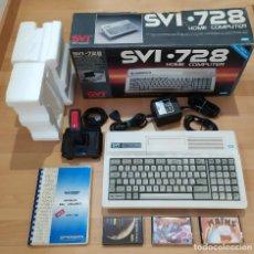 Videojuegos y Consolas: ORDENADOR MSX SPECTRAVIDEO SVI-728 COMPLETO BUEN ESTADO MSX2. Lote 267737614