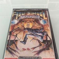 Videojuegos y Consolas: MSX - ABU SIMBEL PROFANATION DINAMIC 1985 / CARGA VERIFICADA. Lote 248737250