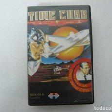 Videojuegos y Consolas: TIME CURB / MSX CINTA / VER FOTOS / RETRO VINTAGE CASSETTE. Lote 267815939