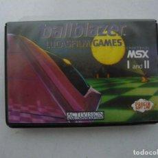 Videojuegos y Consolas: BALLBLAZER / MSX CINTA / VER FOTOS / RETRO VINTAGE CASSETTE. Lote 267817154