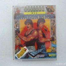 Videojuegos y Consolas: DRAGON NINJA / MSX CINTA / VER FOTOS / RETRO VINTAGE CASSETTE. Lote 267817404