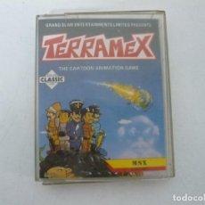 Videojuegos y Consolas: TERRAMEX / MSX CINTA / VER FOTOS / RETRO VINTAGE CASSETTE. Lote 267817459