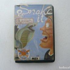Videojuegos y Consolas: SNAKE IT / MSX CINTA / VER FOTOS / RETRO VINTAGE CASSETTE. Lote 267817559