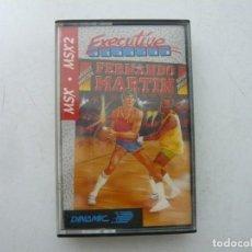 Videojuegos y Consolas: FERNANDO MARTIN EXECUTIVE / MSX CINTA / VER FOTOS / RETRO VINTAGE CASSETTE. Lote 267817669