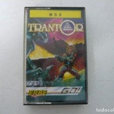 Videojuegos y Consolas: TRANTOR / MSX CINTA / VER FOTOS / RETRO VINTAGE CASSETTE. Lote 267817979
