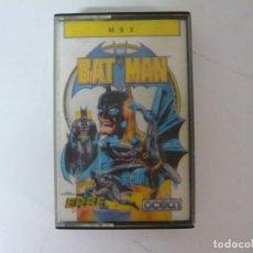 Videojuegos y Consolas: BATMAN / MSX CINTA / VER FOTOS / RETRO VINTAGE CASSETTE. Lote 267818044