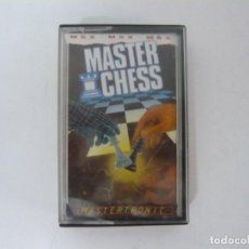 Videojuegos y Consolas: MASTER CHESS / MSX CINTA / VER FOTOS / RETRO VINTAGE CASSETTE. Lote 267818279
