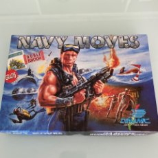 Videojuegos y Consolas: MSX - NAVY MOVES - CASSETTE (CARGA VERIFICADA) - DINAMIC. Lote 267879344