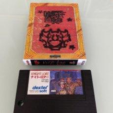Videojuegos y Consolas: MSX - KNIGHT LORE (CARTUCHO). Lote 268298914