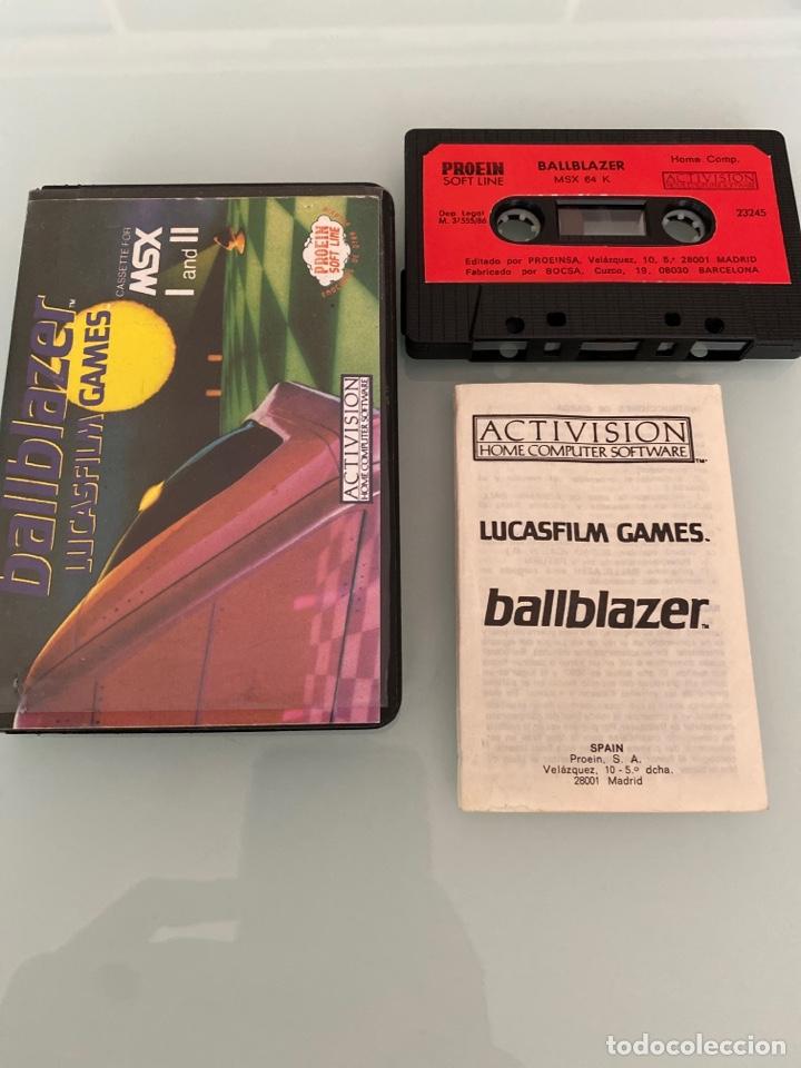 MSX - BALLBLAZER (CARGA VERIFICADA) (Juguetes - Videojuegos y Consolas - Msx)