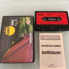 Videojuegos y Consolas: MSX - BALLBLAZER (CARGA VERIFICADA). Lote 268618539