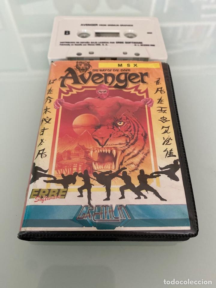 MSX - AVENGER (THE WAY OF THE TIGER II) / ED. ESTUCHE - GREMILN GRAPHICS (Juguetes - Videojuegos y Consolas - Msx)