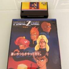 Videojuegos y Consolas: MSX - FINAL ZONE (WOLF) IMPECABLE / CARTUCHO MEGA ROM / TELENET. Lote 268869724