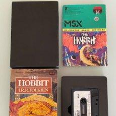 Videojuegos y Consolas: MSX - THE HOBBIT - COMPLETO -1RA EDICIÓN MELBOURNE HOUSE UK / J.R.R. TOLKIEN. Lote 269250868