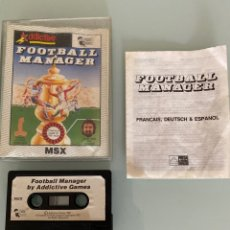 Videojuegos y Consolas: MSX - FOOTBALL MANAGER (COMPLETO). Lote 269253643