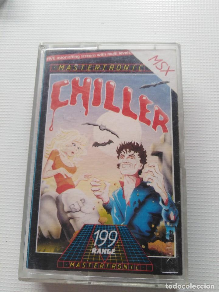 JUEGO MSX CHILLER (Juguetes - Videojuegos y Consolas - Msx)