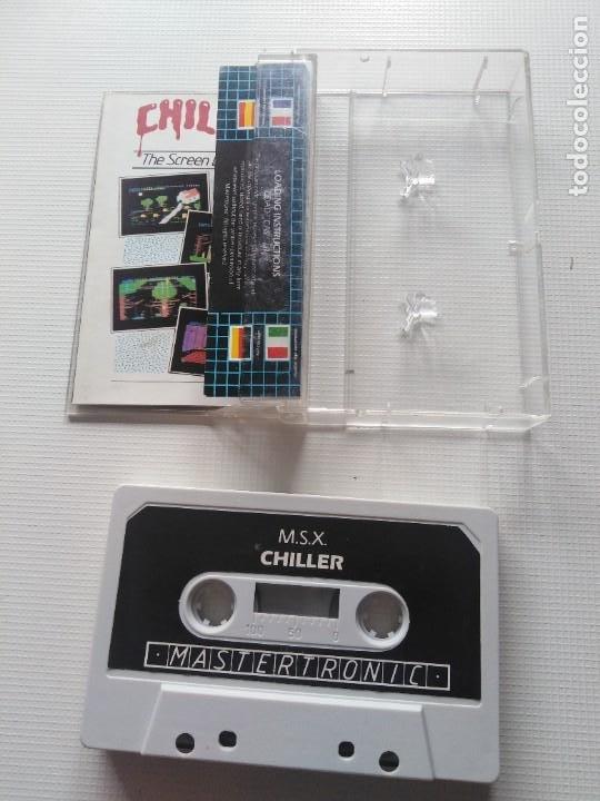 Videojuegos y Consolas: Juego Msx Chiller - Foto 2 - 269612028