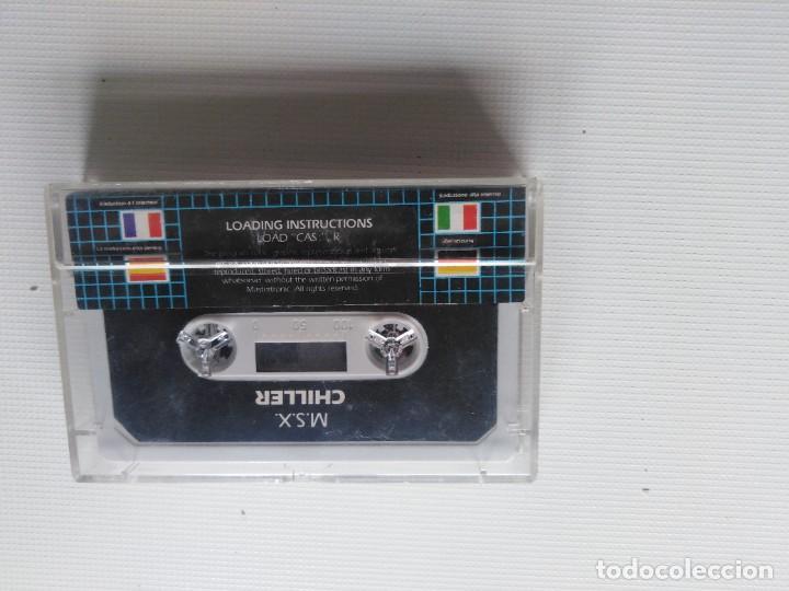 Videojuegos y Consolas: Juego Msx Chiller - Foto 4 - 269612028