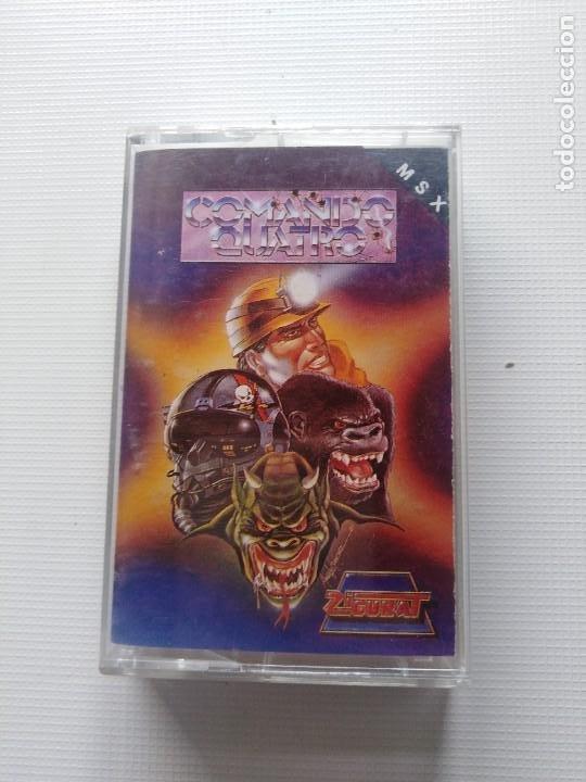 JUEGO MSX COMANDO QUATRO (Juguetes - Videojuegos y Consolas - Msx)