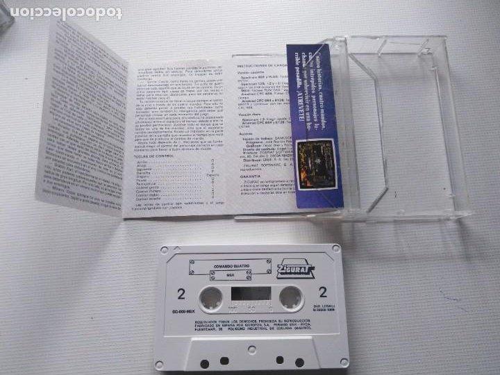 Videojuegos y Consolas: Juego Msx Comando Quatro - Foto 3 - 269612773