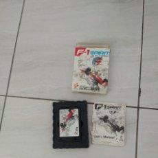 Videojuegos y Consolas: F-1 SPIRIT MSX MSX2 ORIGINAL 100% VERSION PAL. Lote 269951353