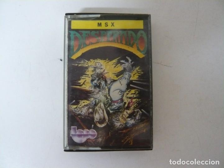 DESPERADO DE TOPO SOFT / MSX / RETRO VINTAGE / CASSETTE (Juguetes - Videojuegos y Consolas - Msx)