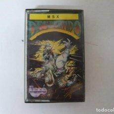 Videojuegos y Consolas: DESPERADO DE TOPO SOFT / MSX / RETRO VINTAGE / CASSETTE. Lote 270569443