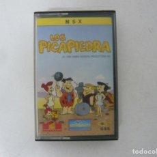 Videojogos e Consolas: LOS PICAPIEDRA / MSX / RETRO VINTAGE / CASSETTE. Lote 270605718