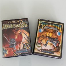 Videojuegos y Consolas: MSX - CAMELOT WARRIORS & ABU SIMBEL PROFANATION (DINAMIC 1986) / ED. ESTUCHE. Lote 270865513