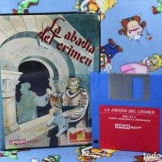 Videojuegos y Consolas: MSX DISQUETTE DISQUETE DISK LA ABADIA DEL CRIMEN OPERA SOFT MISTER CHIP. Lote 270964458