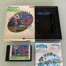 Videojuegos y Consolas: MSX - KONAMI FOOTBALL / BIEN CONSERVADO. Lote 271835298
