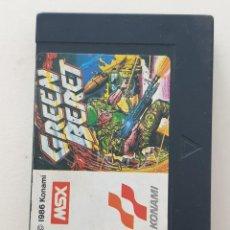 Videojogos e Consolas: JUEGO CASSETTE GREEN BERET KONAMI MSX. Lote 272654448