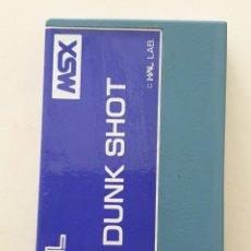 Videojogos e Consolas: JUEGO CASSETTE DUNK SHOT HAL MSX. Lote 272674758