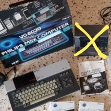 Videojuegos y Consolas: ORDENADOR MSX Y CINTAS ORIGINALES(REPRODUCTOR DE CINTAS NO). Lote 189392902