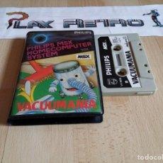 Videogiochi e Consoli: MSX VACUUMANIA EDICION ESPAÑOLA. Lote 274645358