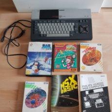 Videojogos e Consolas: ORDENADOR CONSOLA MSX MAS LOTE DE JUEGOS INTRODUCCIONES Y MAS ORIGINAL GRAN ESTADO. Lote 274921493