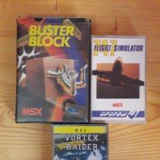 Videojuegos y Consolas: LOTE JUEGOS MSX. Lote 274932598