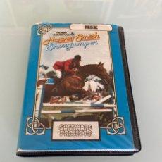 Videojuegos y Consolas: MSX - HARVEY SMITH SHOWJUMPER / CARGA VERIFICADA. Lote 275242318
