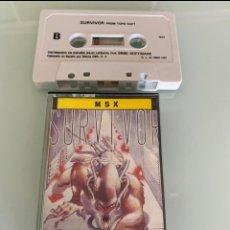 Videojuegos y Consolas: MSX - SURVIVOR (TOPO SOFT) - CARGA VERIFICADA. Lote 275713943