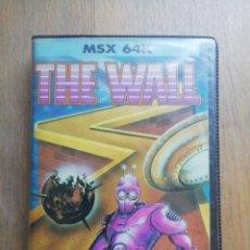 Videojuegos y Consolas: THE WALL MSX ERBE ESTUCHE. Lote 276704923