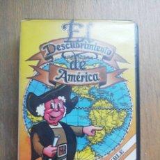 Videojuegos y Consolas: EL DESCUBRIMIENTO DE AMÉRICA MSX OMK. Lote 276705758