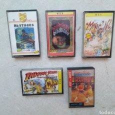 Videojuegos y Consolas: LOTE DE 5 JUEGOS MSX. Lote 277096448