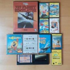 Videojuegos y Consolas: LOTE JUEGOS ORDENADOR MSX EN FORMATO CARTUCHO Y CASSETTE BUEN ESTADO. Lote 278706268