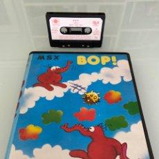 Videojuegos y Consolas: MSX - BOP! - ESTUCHE XXL - MIND GAMES ESPAÑA / IMPECABLE. Lote 279372778
