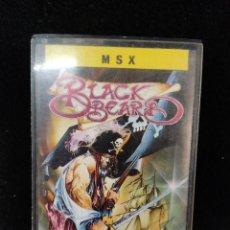 Videojuegos y Consolas: JUEGO MSX BLACK BEARD. Lote 279510768