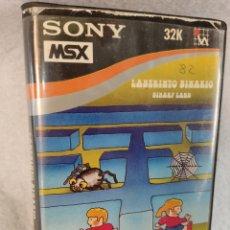 Videojuegos y Consolas: JUEGO MSX LABERINTO BINARIO. Lote 279526818