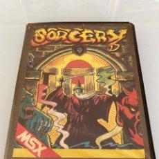 Videojuegos y Consolas: MSX - SORCERY (ESTUCHE XL) - RUNSTOP / RS-103 / DISCOVERY INFORMATIC / CARGA VERIFICADA. Lote 281772053